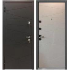 Входная металлическая дверь Маstino Monte (Белый софт)