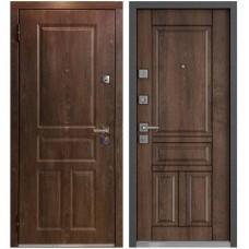 Входная металлическая дверь Маstino Monte (Дуб шале морёный)