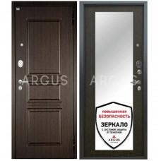 Входная металлическая дверь Аргус Люкс АС Милли венге/2П Сабина венге
