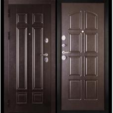 Входная металлическая дверь Дива 2 (Венге/венге)