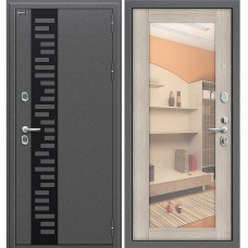 Входная металлическая дверь Браво Оптим Термо 220 (Cappuccino Veralinga)