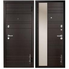 Входная металлическая дверь МетаЛюкс Дуэт М701