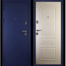 Входная металлическая дверь Дива 3 (Синий бархат/ясень белый)