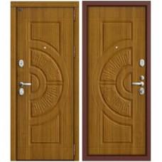 Входная металлическая дверь Groff P3-302 (Золотой Дуб)