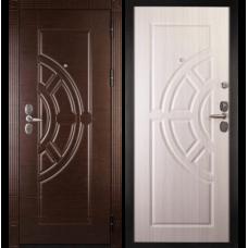 Входная металлическая дверь Дива 8 (Венге/сандал белый)